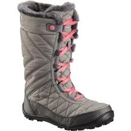 Columbia YOUTH MINX MID III WP OMNI-HEAT - Dívčí zimní obuv