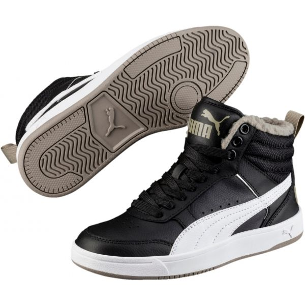 Puma REBOUND STREET V2 FUR JR - Dětská zimní obuv 22e8a8ed98