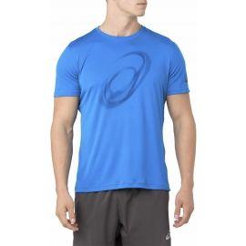 Asics SILVER SS TOP GRAPHIC - Pánské běžecké triko