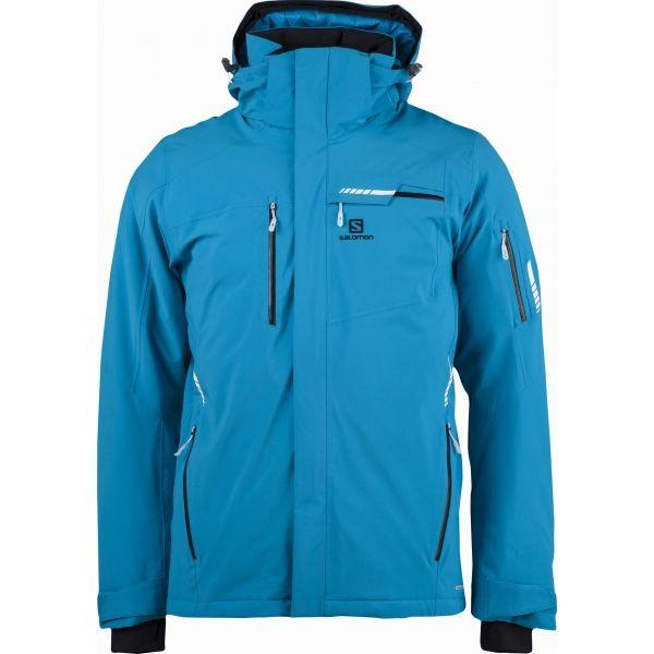 Salomon BRILLIANT JKT M - Pánská lyžařská bunda fc6e32e44b5