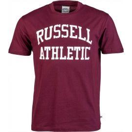 Russell Athletic S/S RAGLAN CREW NECK TEE - RUSSELL SCRIPT