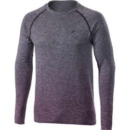 Klimatex SAVELI - Pánské outdoor bezešvé triko s dlouhým rukávem