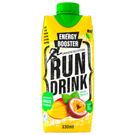 RunDrink MANGO MARACUJA 330 ML - Energetický nápoj