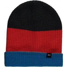 O'Neill BM REVERSIBLE BLOCK BEANIE - Pánská oboustranná  zimní čepice