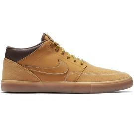 Nike SB PORTMORE II SOLARSOFT MID - Pánská volnočasová obuv