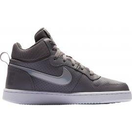 Nike COURT BOROUGH MID GS - Dětské volnočasové boty