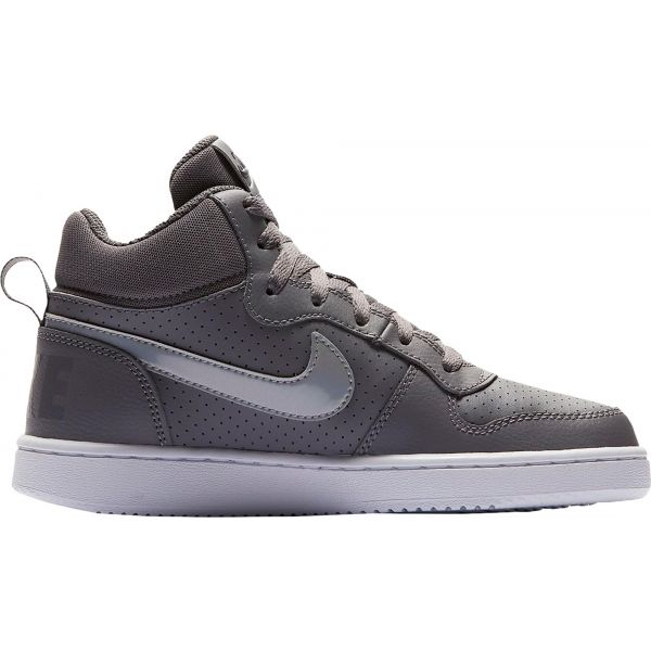 Nike COURT BOROUGH MID GS - Dětské volnočasové boty 00c6339dbdb