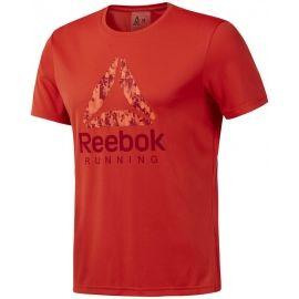 Reebok RUN GRAPHIC TEE - Pánské triko