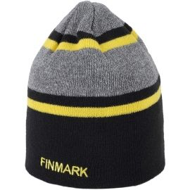 Finmark ZIMNÍ ČEPICE - Pánská pletená čepice