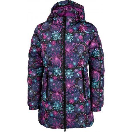 Dívčí prošívaný kabát