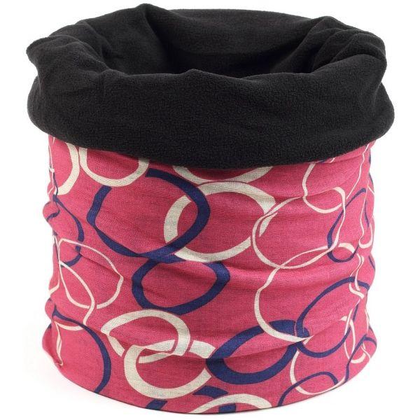 Finmark MULTIFUNKČNÍ ŠÁTEK S FLÍSEM - Multifunkční šátek s fleecem c12a53c4a7