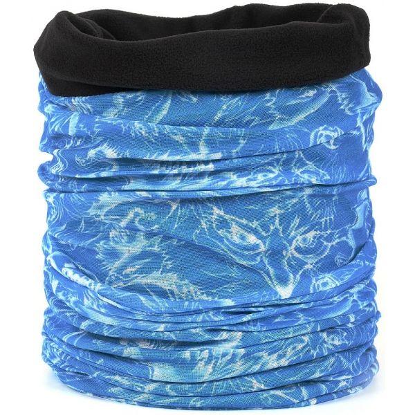 cbf88bd1a Finmark DĚTSKÝ MULTIFUNKČNÍ ŠÁTEK - Dětský multifunkční šátek s fleecem