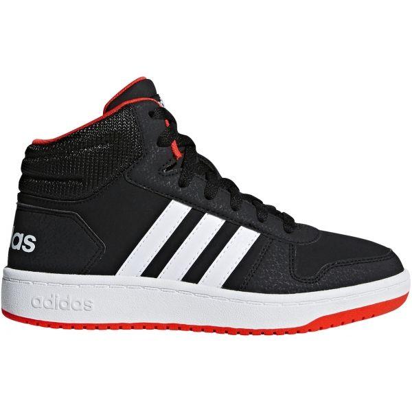 144eeab3604 adidas HOOPS MID 2.0 K - Dětská volnočasová obuv