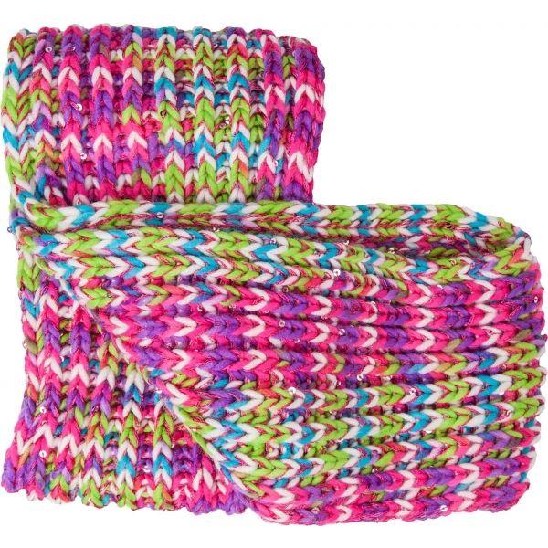 Lewro BIBURELA - Dívčí pletená šála 483cc5c4fe