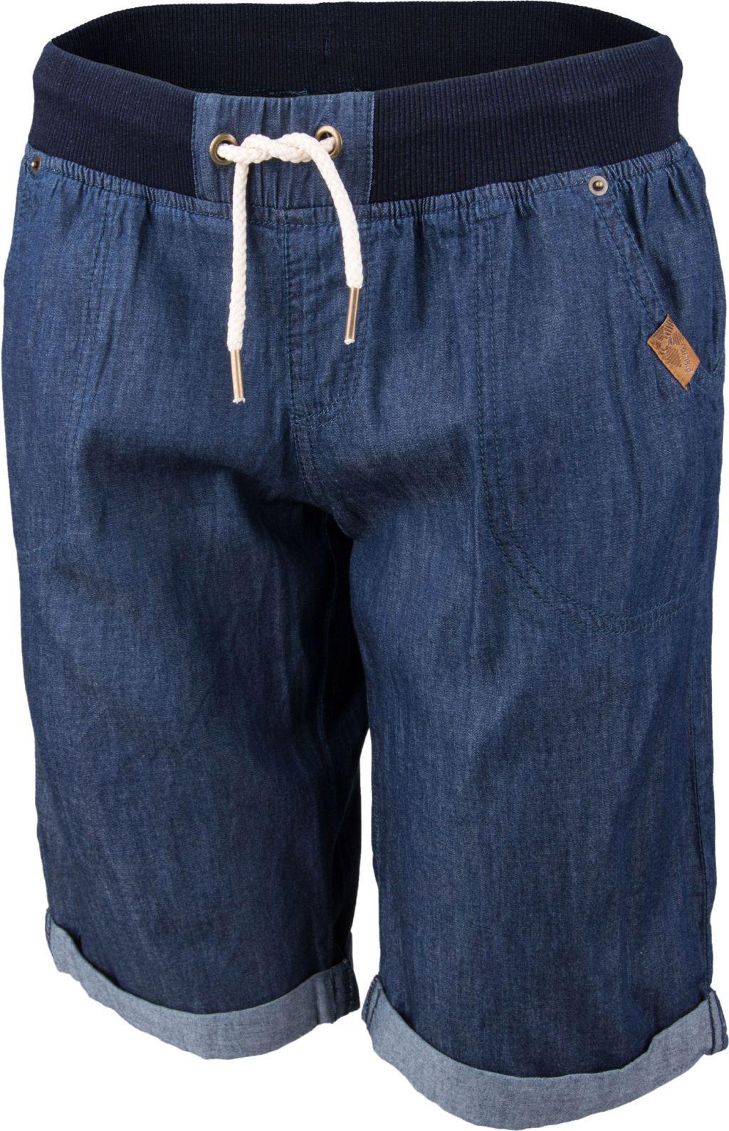 7b4a2e8076f5 Dámské šortky džínového vzhledu