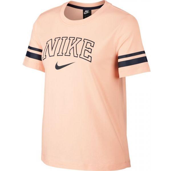 Nike damske tricko sportswear top red s levně | Blesk zboží