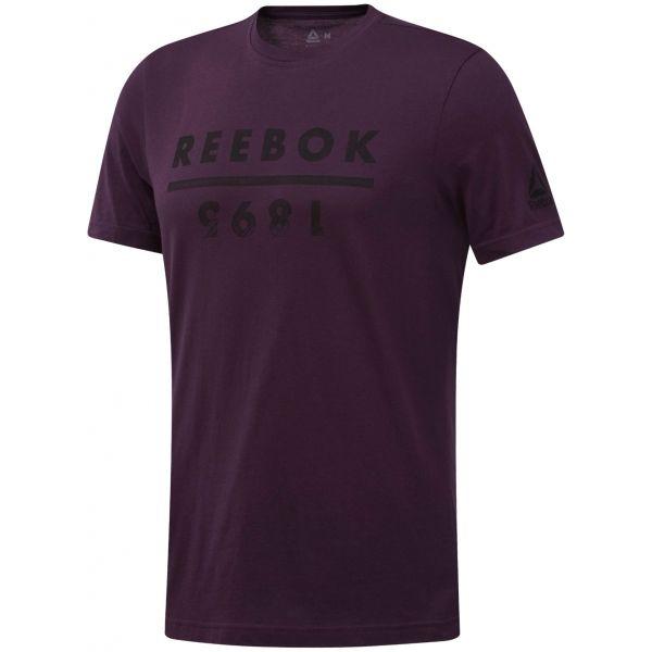 Reebok GS REEBOK 1895 - Pánské triko  e0e98435e1