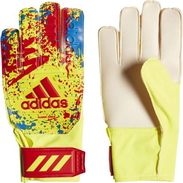 adidas CLASSIC TRN J - Chlapecké brankářské rukavice