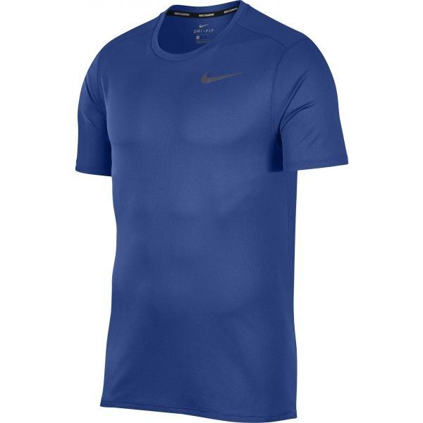 Nike DRI FIT BREATHE RUN TOP SS - Pánské běžecké tričko