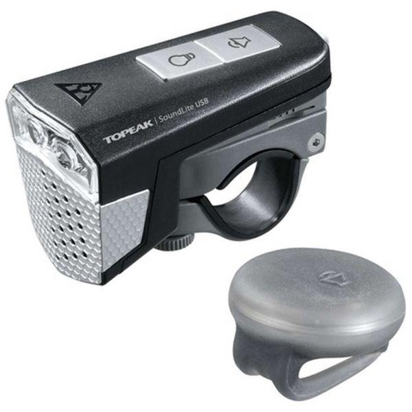 Topeak SOUNDLITE USB - Přední světlo na kolo