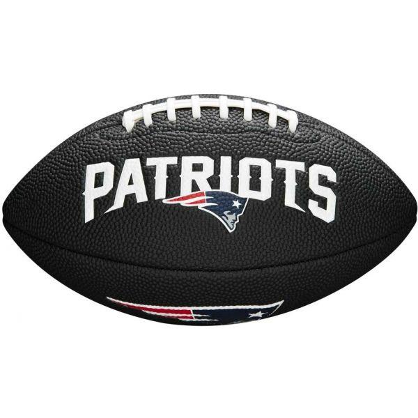 Wilson MINI NFL TEAM SOFT TOUCH FB BL NE - Mini míč na americký fotbal