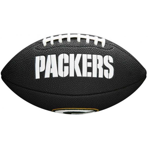 Wilson MINI NFL TEAM SOFT TOUCH FB BL GB - Mini míč na americký fotbal