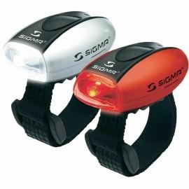Sigma MICRO COMBO - Přední a zadní světlo