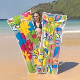 Bestway Deluxe Comfort Flowered Air Mat
