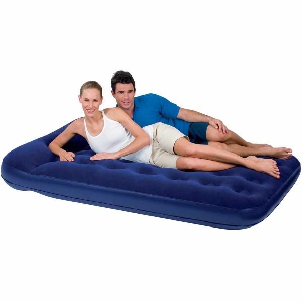 Bestway EASY INFLATE FLOCKED AIR - Nafukovací postel - dvojlůžko - Bestway