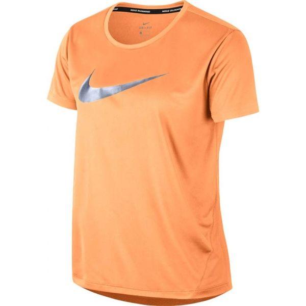 82f4447d240d Nike MILER TOP SS HBR1 - Dámské tričko