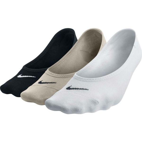 Nike 3PPK WOMEN'S LIGHTWEIGHT FOOTI - Ponožky