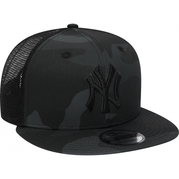 New Era 9FIFTY MLB ESSENTIAL NEW YORK YANKEES TRUCKER CAP - Pánská klubová truckerka