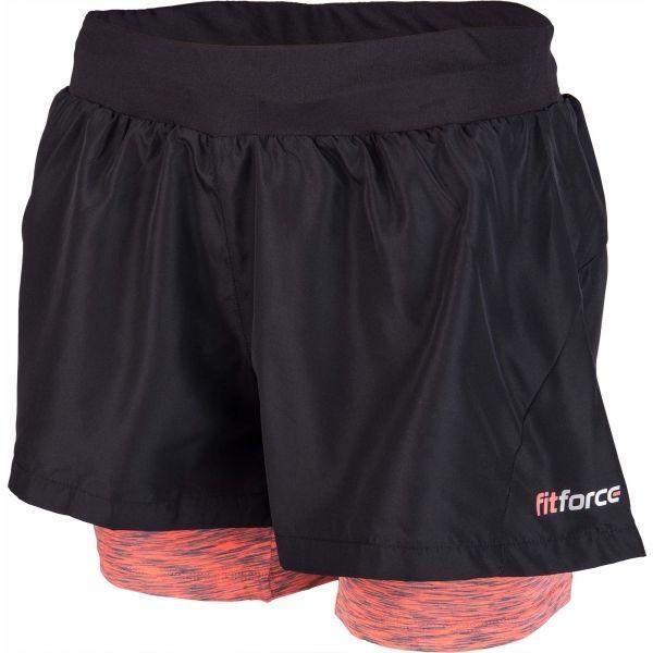 7d519bbb4625 Fitforce 2V1 NOTY - Dámské fitness šortky