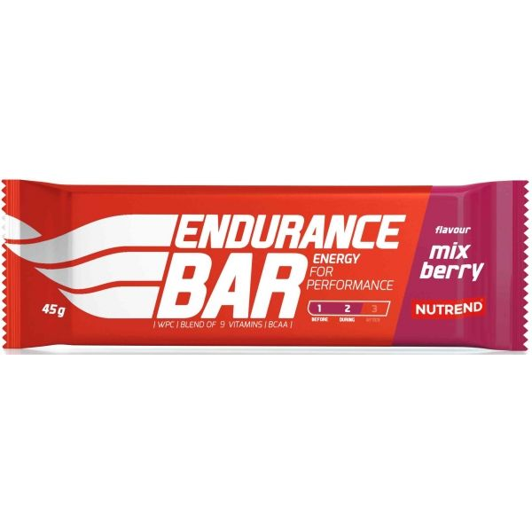 Nutrend ENDURANCE BAR 45G MIX BERRY - Energie