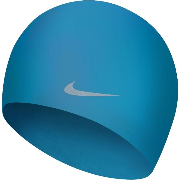 Nike SOLID SILICONE YOUTH - Dětská plavecká čepice