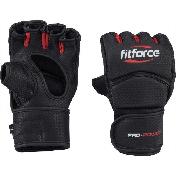 Fitforce PRO POWER - MMA bezprsté rukavice