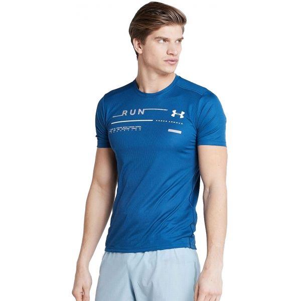 Under Armour RUN GRAPHIC TEE - Pánské běžecké triko