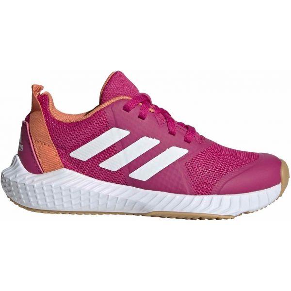 adidas FORTAGYM K - Dětská sálová obuv