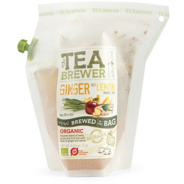 Grower's Cup CAJ GINGER,LEMON - Cestovní bylinný čaj