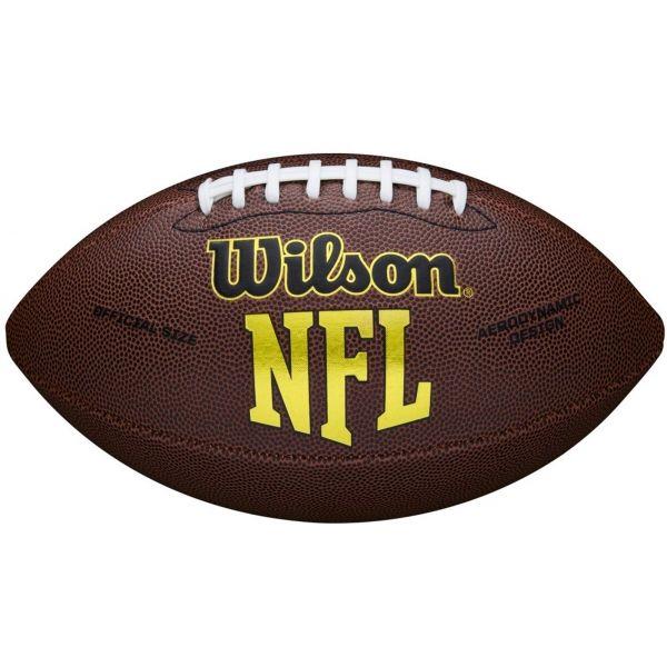 Wilson NFL FORCE OFFICIAL DEFLAT - Míč na americký fotbal