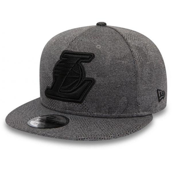 New Era 9FIFTY MLB MLB ENGINEERED PLUS LOS ANGELES LAKERS - Pánská klubová kšiltovka