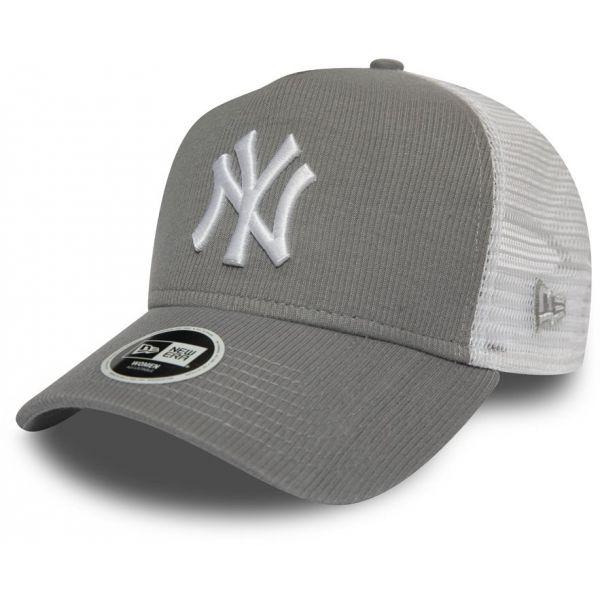 New Era 9FORTY W AF TRUCKER MLB RIBBED JERSEY NEW YORK YANKEES - Dámská klubová truckerka