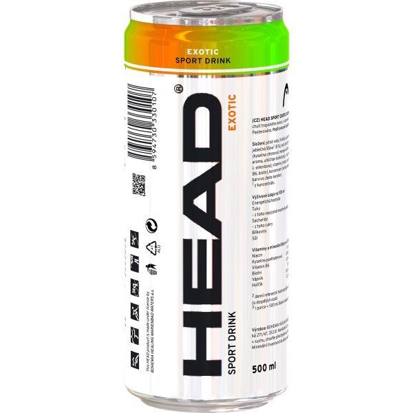 Head SPORT DRINK EXOTIC 500ML - Sportovní nápoj