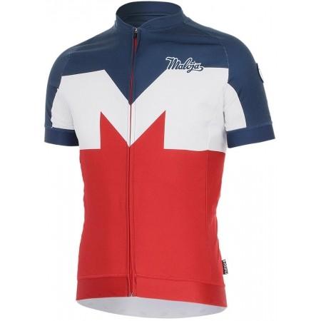 Pánský cyklistický dres - Maloja GRANAT SALAM M - 1