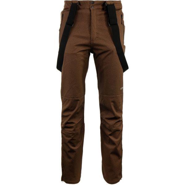 ALPINE PRO RUBENS - Pánské lyžařské kalhoty