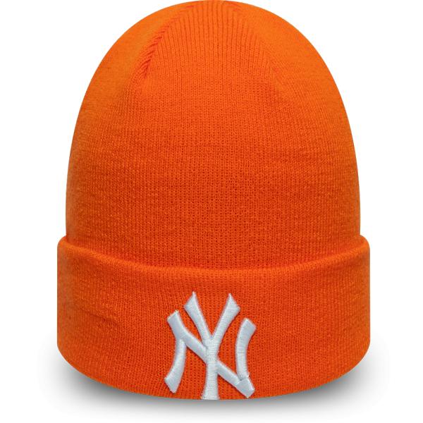 New Era MLB LEAGUE ESSENTIAL CUFF KNIT NEW YORK YANKEES - Unisex zimní čepice