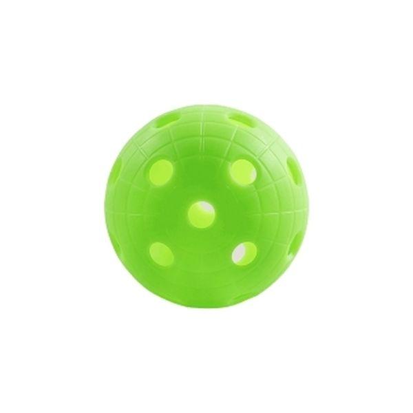 Unihoc BALL CRATER GRASS GREEN - Florbalový míček