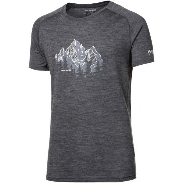 Progress TASMAN - Pánské triko z merino vlny